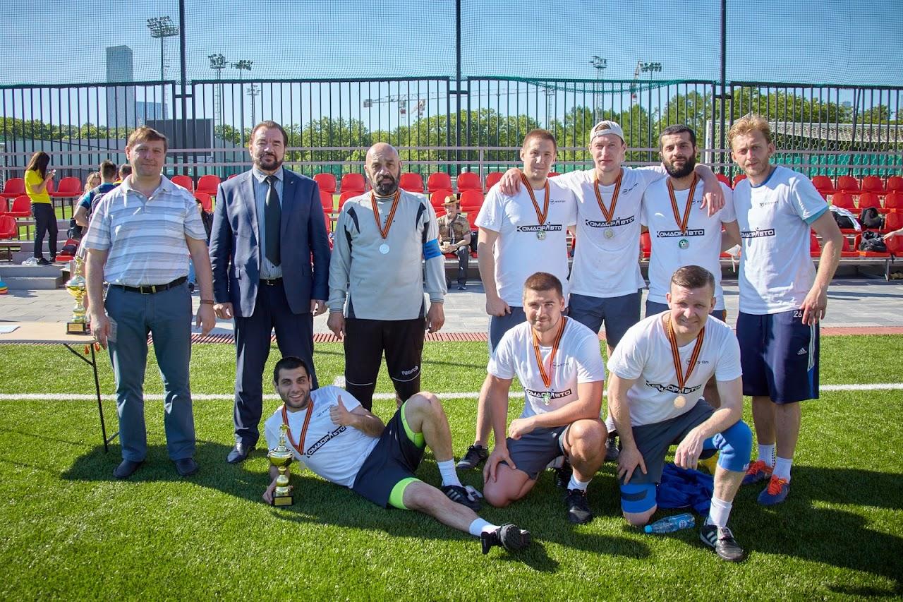 Первый турнир по футболу среди любительских команд состоялся!