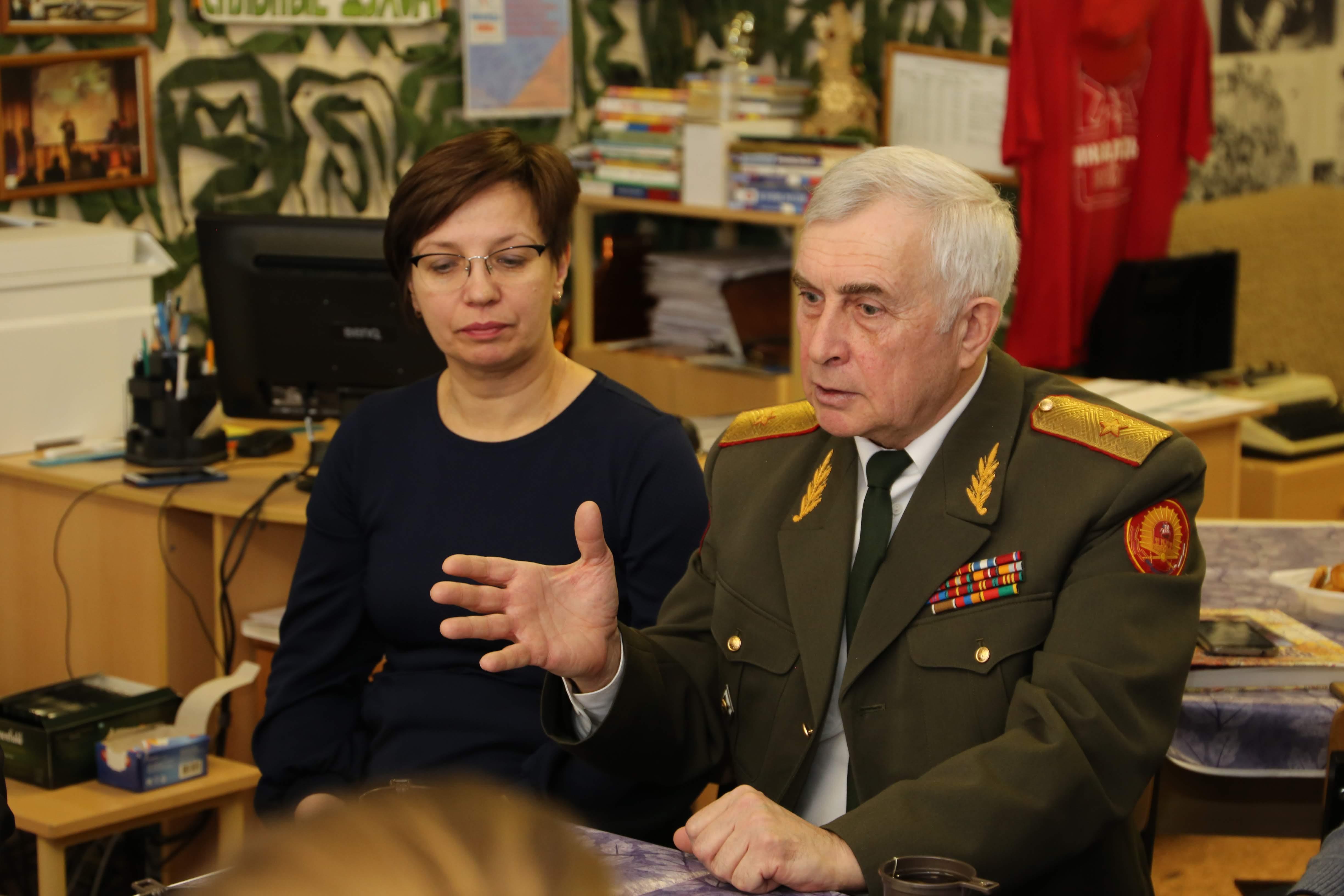 Проведены уроки мужества в московских школах.
